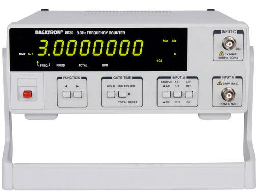 Диапазон измерения частоты: