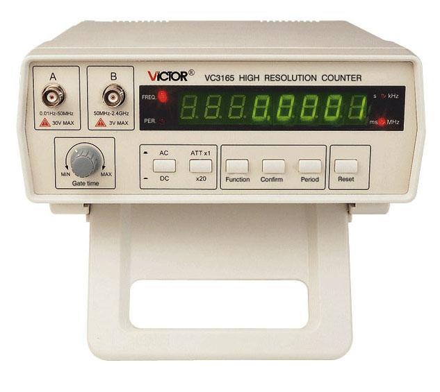 Частотомер vc3165 инструкция