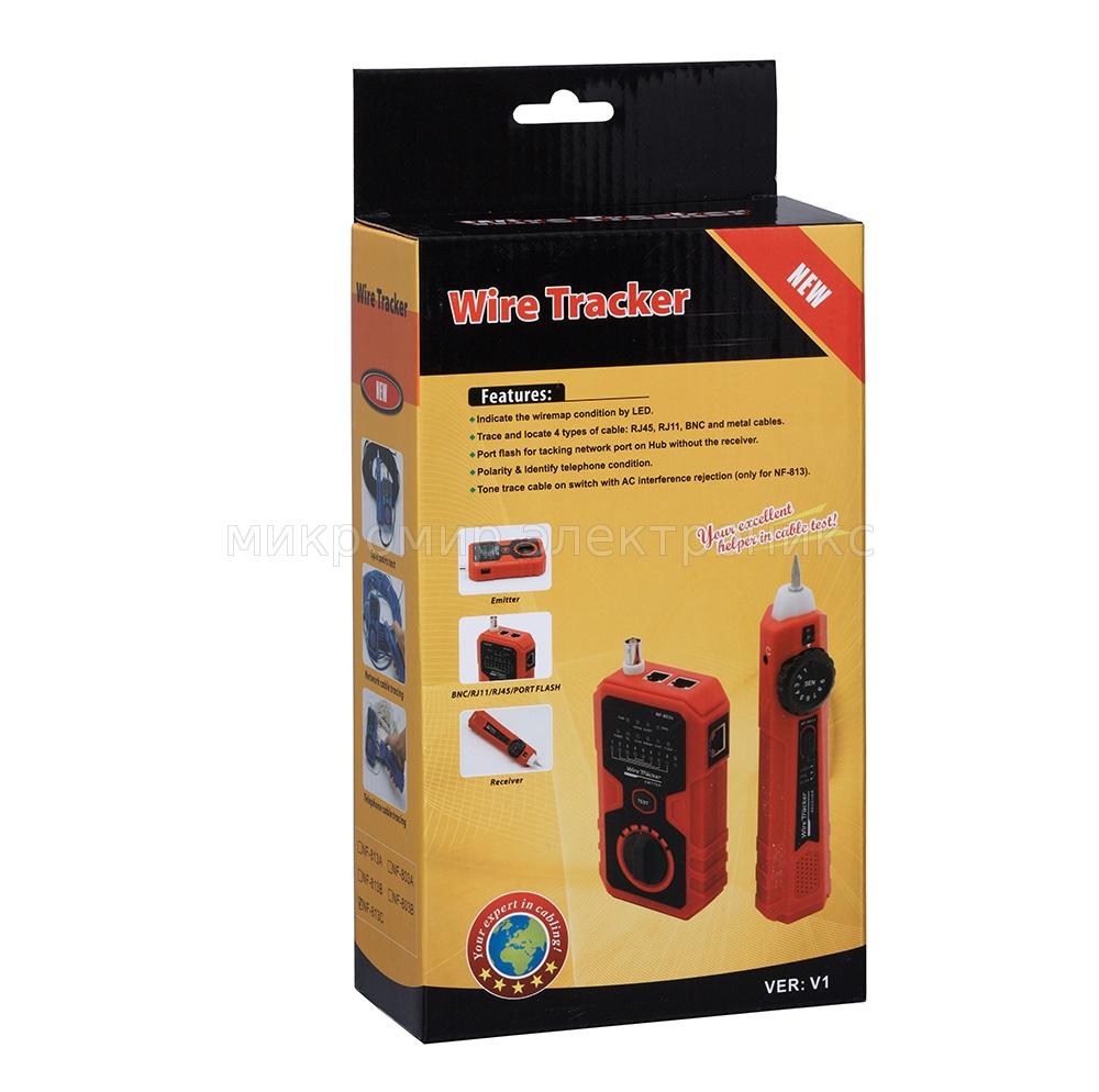 кабельный тестер трассоискатель Noyafa Nf 813c купить в